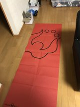 Yoga mat with matching carrying bag in Okinawa, Japan