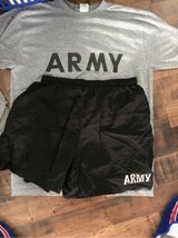 Army PT gear in Wilmington, North Carolina