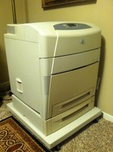 HP5550dtn Color LaserJet Printer in Spring, Texas