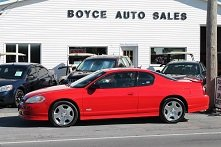 MONTE CARLO SS...EXTRA NICE CAR....6 MONTH WARRANTY in Watertown, New York