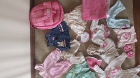 American Girl Bitty Baby  backpack and clothes in St. Charles, Illinois