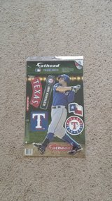 Texas Rangers Jumbo FATHEAD - NEW in Camp Lejeune, North Carolina
