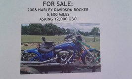 2008 Harley Davidson Rocker in DeRidder, Louisiana