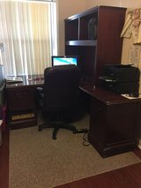 Heavy Duty Executive-Style Office Desk w/Chair in Fort Benning, Georgia