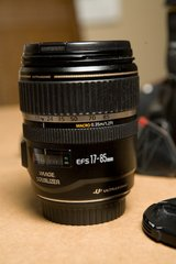 Canon EF-S 17-85mm f/4-5.6 IS USM Lens in Okinawa, Japan
