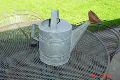 Galvanized Steel watering can in Naperville, Illinois