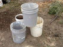 Five gallon buckets - 20+ total in Alamogordo, New Mexico
