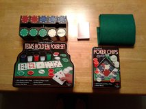 Texas Hold 'Em Poker Set w/ Additional Poker Chips in Davis-Monthan AFB, Arizona