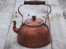 Antique copper Tea kettle in Phoenix, Arizona