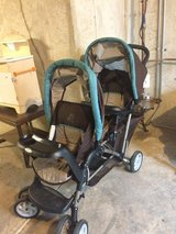 Graco double stroller in Chicago, Illinois