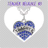 TEACHER NECKLACE in Fort Benning, Georgia