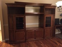 All Wood TV STand / Entertainment center / wall unit in Warner Robins, Georgia