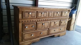 Nice all wood dresser in Fort Bliss, Texas