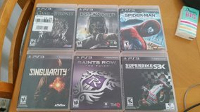 6x PS3 Games in Ramstein, Germany