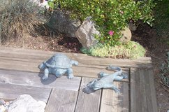 New Turtle and Lizard decoration set in Ramstein, Germany