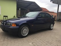 BMW 316i (passed USAREUR inspection already) in Hohenfels, Germany