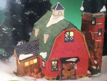 Porcelain LIghted Christmas Village/ BARN in Fort Campbell, Kentucky