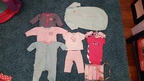 Baby Girl Sz 3-6 month Clothes in Okinawa, Japan