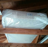 Twin box spring/foundation... NO mattress in Glendale Heights, Illinois