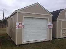 12x24 Garage Storage Building Shed DISCOUNTED!! in Moody AFB, Georgia