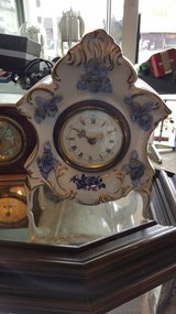 Rococo style Clock in Hohenfels, Germany