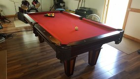 Like New Reno Pool Table with 2 Cue Sticks and Chalk in Fort Polk, Louisiana