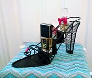 NEW Black Metal Shoe Organizer Stand in Lakenheath, UK