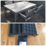 IKEA Falster Patio Outdoor Set w/ Cover & Chair Pads in Naperville, Illinois