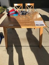 Kitchen Table with 4 Chairs from Living Spaces (Moving Sale) in Lake Elsinore, California