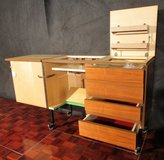 Mid Century Sewing Machine Cabinet / Desk in Ramstein, Germany