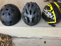 Safety helmets in Fort Carson, Colorado