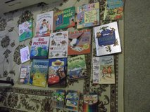 Lot of kids books, and crayons in Bolling AFB, DC