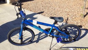 Boys bicycle in Fort Huachuca, Arizona
