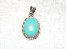 Small Sterling Silver Turquoise Slide in Hopkinsville, Kentucky