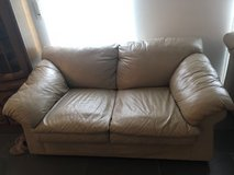 Leather loveseat and couch in Alamogordo, New Mexico