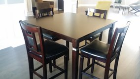 Bar Height Table & Chairs in Warner Robins, Georgia