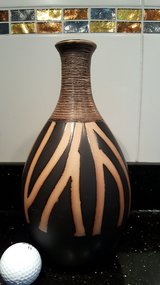 Vase with design in Ramstein, Germany