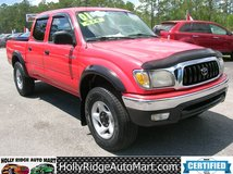 4 X 4 2001 Toyota Tacoma SR5 CREW CAB-RED!!! in Camp Lejeune, North Carolina