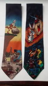 Lot of 2 Looney Tunes Characters Tie in The Woodlands, Texas