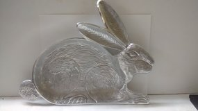 "Silver Bunny Candy Tray 10"" x13"" in Spring, Texas"