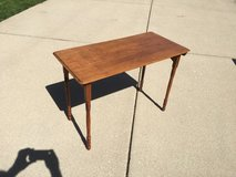 vintage table with folding legs in Elgin, Illinois