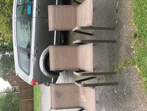6 outdoor chairs in Fort Campbell, Kentucky