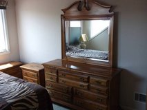 DRESSER and (2) NIGHT STANDS in Naperville, Illinois