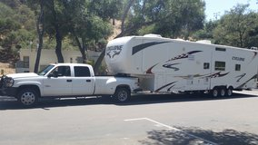 2008 Cyclone 40ft toy hauler (gooseneck or 5th wheel) in Camp Pendleton, California
