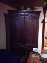 Mahogany armoire in Ramstein, Germany