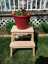 Wood Plant Stand in Glendale Heights, Illinois