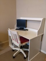 White Desk with Chair in Elgin, Illinois