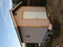 Shed 8x10 sturdy & well made 1 yr ago in 29 Palms, California