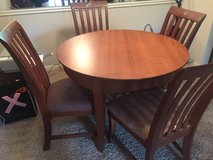 Oval Table + 4 Chairs in Fort Sam Houston, Texas