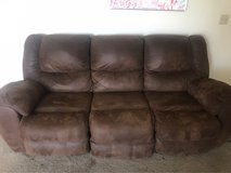 brown recline couch in Fort Irwin, California